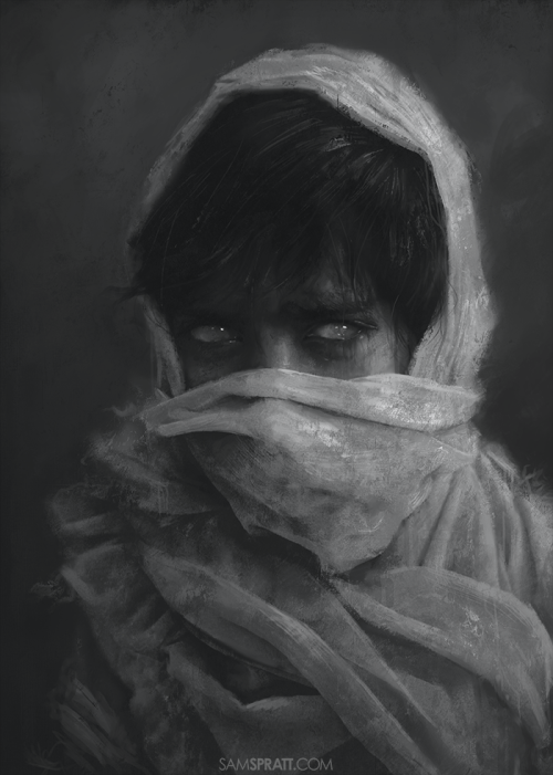 "samspratt:  ""Seer"" - Illustration by Sam Spratt"