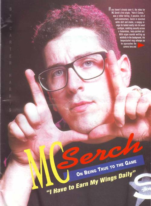 GPOYW (Did you know MC Serch was a producer on Illmatic? True story!)