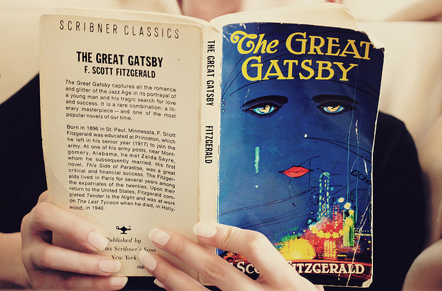 airudite:  30 Days of Life Support - Books & Reading: The Great Gatsby by Jeniee on Flickr.