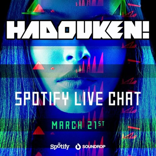 London quartet Hadouken! will be on Soundrop today! Listen to their new album and live chat with the band at 11am EST! http://open.soundrop.fm/s/hadouken