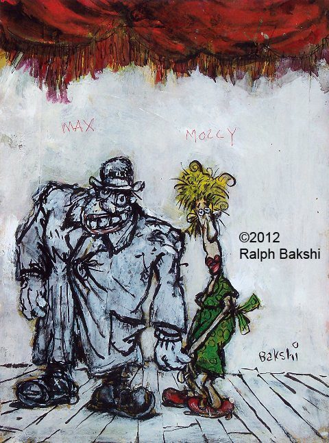 ohyeahralphbakshi:  Meet Max and Molly from Ralph Bakshi's Last Days of Coney Island. -OYRB