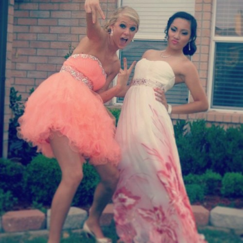Mine and @meganmmiller11's friendship in a picture! 💋💅👗👠💄👑💕