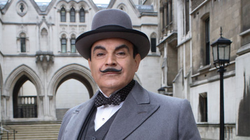 David Suchet has been playing Belgian detective Hercule Poirot since 1989. After a 13-season run, Poirot, the mystery series based on Agatha Christie's novels, has come to an end. The series is now on Acorn TV, streaming online. David Bianculli reflects on the long-running show:  But since these are, absolutely, the last TV episodes featuring Suchet as Poirot, they do provide a satisfying conclusion to a very long-running viewing experience. The actor has grown into the role, sporting wrinkles to match the wisdom, and perfecting the twinkle in his eye whenever, as the detective himself would put it, Poirot has finally solved the case as only Poirot can. And think of it: The actors of the current movie Boyhood have gotten lots of praise for filming and playing their roles over a 12-year period. David Suchet, as Hercule Poirot, has done the same thing for twice as long. He's done it so long, in fact, that he's ending his run on a medium that didn't even exist when he started. Wrap your little grey cells around that…
