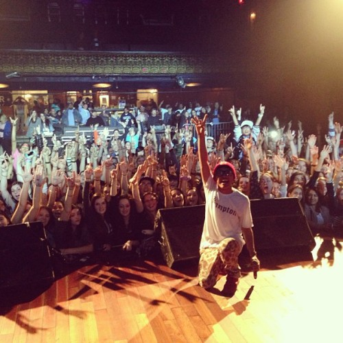 dpryde:  TORONTO! SUCH AN AMAZING HOMETOWN CROWD. LOVE YOU ALL! #TORONTO #HOMETOWN #TOUR