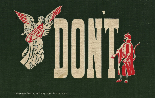 "zenfabulous:  ""Don't"" by Namey McNamerson"