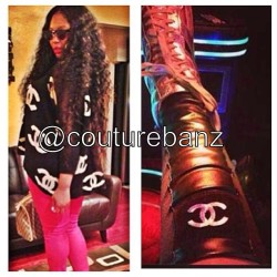 Via @couturebanz: Sweater and leggings are still available on our site!!!! Sweater also available in white!!!!! Follow @couturebanz now for all of the latest and hottest fashion accessories #couturebanz #miami #atlanta #newyork #dallas #neworleans #losangeles #hot #fashion #couture #love #luxury #chanel #designer #moschino #inspired #instafashion #instagood #ootd #follow #college #hbcu #baddie #