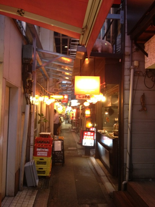 Alley, Kinshicho.