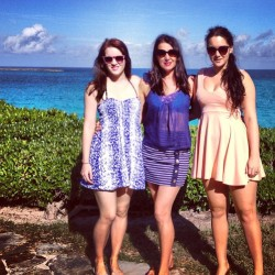 As much as I do love this cold weather… Kinda reminiscing about the Bahamas right now