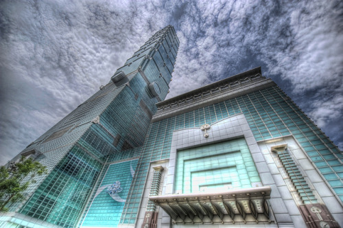 randomly-random-stuff:  Taipei 101 (HDR) by Nik-On! on Flickr.