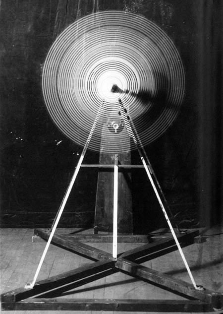 Rotary Glass Plates (Precision Optics), 1920, Marcel Duchamp