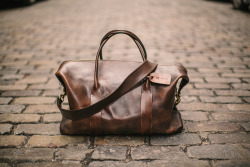 cavalier:  The Original Cavalier Leather Duffle, hand-sewn in lower Manhattan and made to order. Photography by Matt Edge. — Cavalier on the web: http://cavalieressentials.com Store: Cavalier Shop / Twitter: @Cavalier / Tumblr: Journal