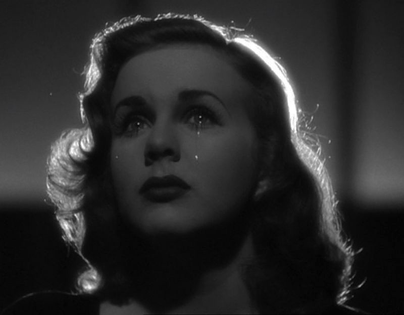 wehadfacesthen:  Deanna Durbin in Christmas Holiday (Robert Siodmak, 1944) via nevver