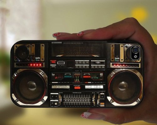 Ghetto Blaster iPhone Case - Detailed Awesomeness