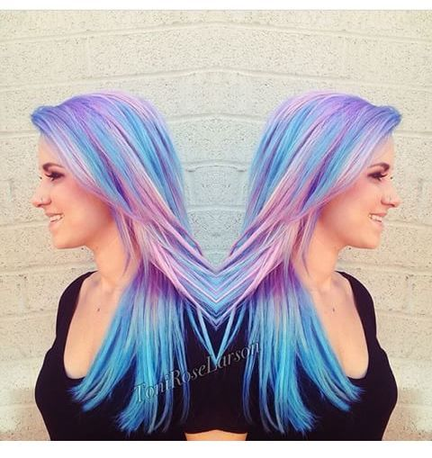 colored hair cabelos coloridos hair colored cabelo azul cabelo rosa cabelo colorido colored hair blue colored hair purple colored hair pink piercing