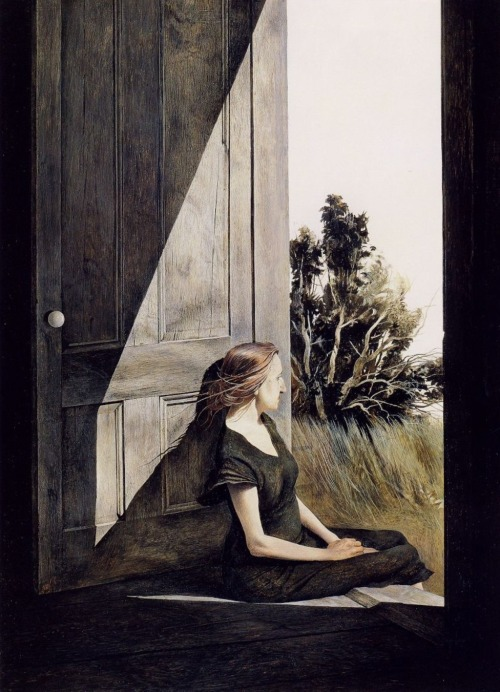 colourthysoul:  Andrew Wyeth - Christina Olson (1947)
