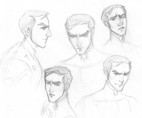 oftfrustrated:  one of the few times I do one of those 'face studies' drunk and arting don't always work together esp when trying to stick closer to someone else's style I like the bottom right one though