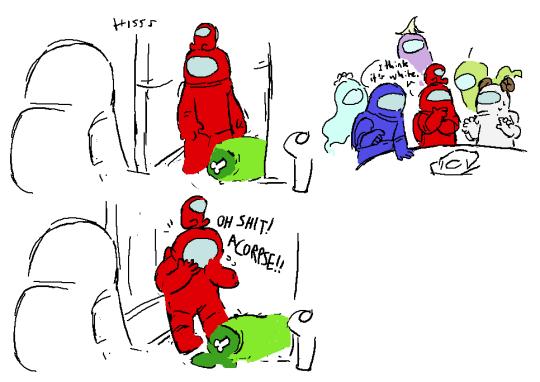 so, that decontamination corridor, huh!