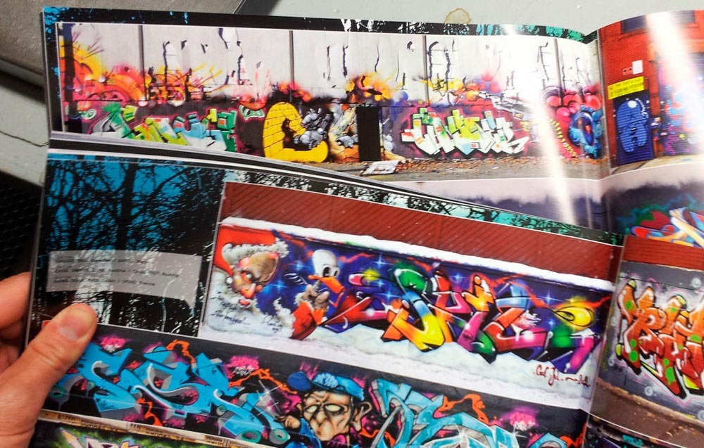 New Stylefile41 with Skil, Caster and Gouge combos. Nychos and Round special and alot of top notch walls and trains.