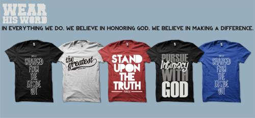 Hello. I'm Jeo. Looking for cool shirts? Wear and share His word. Order now. Just text me at 09152267389. And other designs are here. http://www.facebook.com/media/set/?set=a.292915057476817.53639.124525574315767&type=3 Thanks. God bless. :)