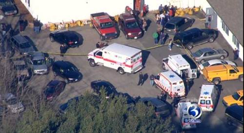 27 dead - 18 children - in Connecticut school shooting