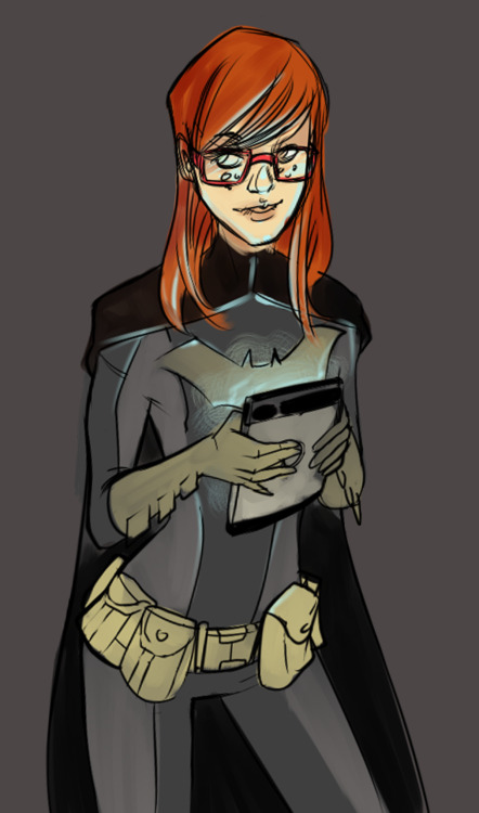 danfaust:  fyeahbatgirl:  Batgirl by Kanish  I…um…I'm gonna need a moment…   I really need to get on that Batgirl costume…