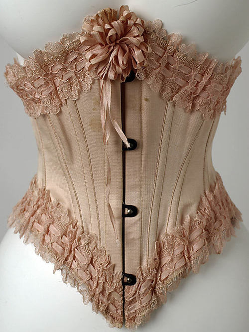 love-all-the-things:  Antique corset, 1867  Lovely