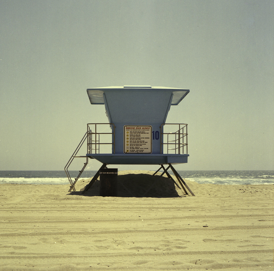 Huntington Beach, CA. 2010 Shot with Bronica SQa using Kodak 400VC 120 Film