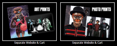 officialsteampoweredgiraffe:  New Store Items!Have you checked out the art prints available from Sam Luke & Bunny Bennett?How about the Steam Powered Giraffe Photo Prints from GeekShot Photography?Separate from the SPG Store Cart, you can now order high quality prints of the robots and a collection of art through the corresponding website.Check it out!