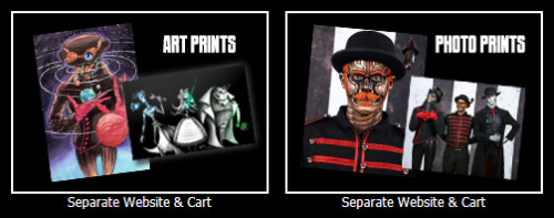 New Store Items!Have you checked out the art prints available from Sam Luke & Bunny Bennett?How about the Steam Powered Giraffe Photo Prints from GeekShot Photography?Separate from the SPG Store Cart, you can now order high quality prints of the robots and a collection of art through the corresponding website.Check it out!
