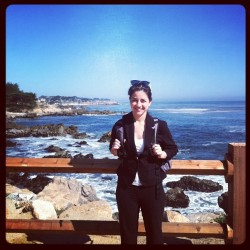 Made it!! (at Monterey Beach)