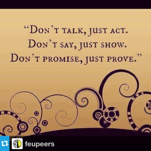 #Repost from @feupeers :)  #prove #show #act
