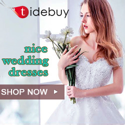 Tidebuy 2018 Cheap Wedding Dress