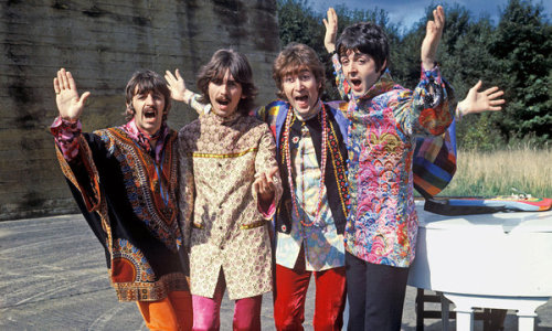 MAGICAL MYSTERY TOUR IS AIRING ON PBS TONIGHT* Check your local listings. There's an additional documentary called MAGICAL MYSTERY TOUR REVISITED airing too, for a total of 2 hours of programming. *Check local listings (as always with PBS) and it may be listed under GREAT PERFORMANCES. Click the pic for more on MMT from the NYT.