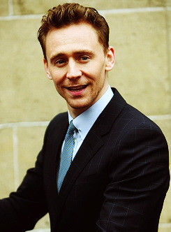Tom Hiddleston outside ITV Studios