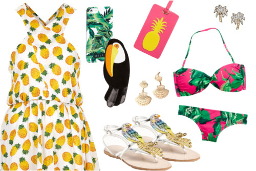 20 Tropical Treasures for Your Spring Wardrobe!