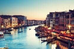 """Venice is like eating an entire box of chocolate liqueurs in one go."""