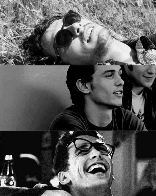 en-chan-teur:  James Franco is adorable