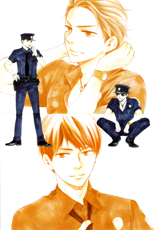 fencer-x:  Huh. Okay all of this cop!Aki stuff is making me kind of want him to join the force with Ueda at the end of the series :x