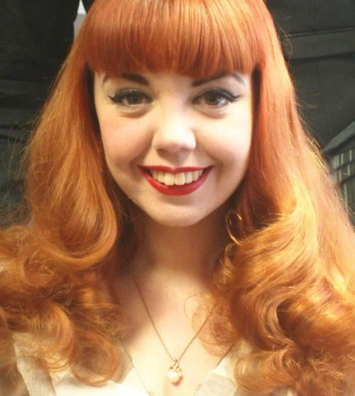 shedontuse-jelly:  A photo from the Dove House 1940's Day. Hair by The Fringe. :)