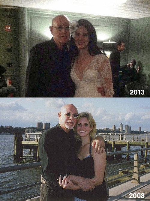 Lana and the man that discovered her, Bob Leone.