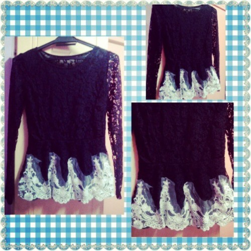NEW PEPLUM DESIGN FOR SALE! RM39.90 ONLY! FREE POSTAGE FOR SEMENANJUNG. 1ST COMES 1ST SERVED BASIS LIMITED STOCK!! #KeymeyOn9Shopping #black #peplum #lace #dress