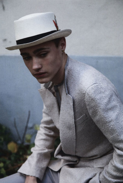Callum Wilson by David Armstrong for L´Officiel Hommes Germany