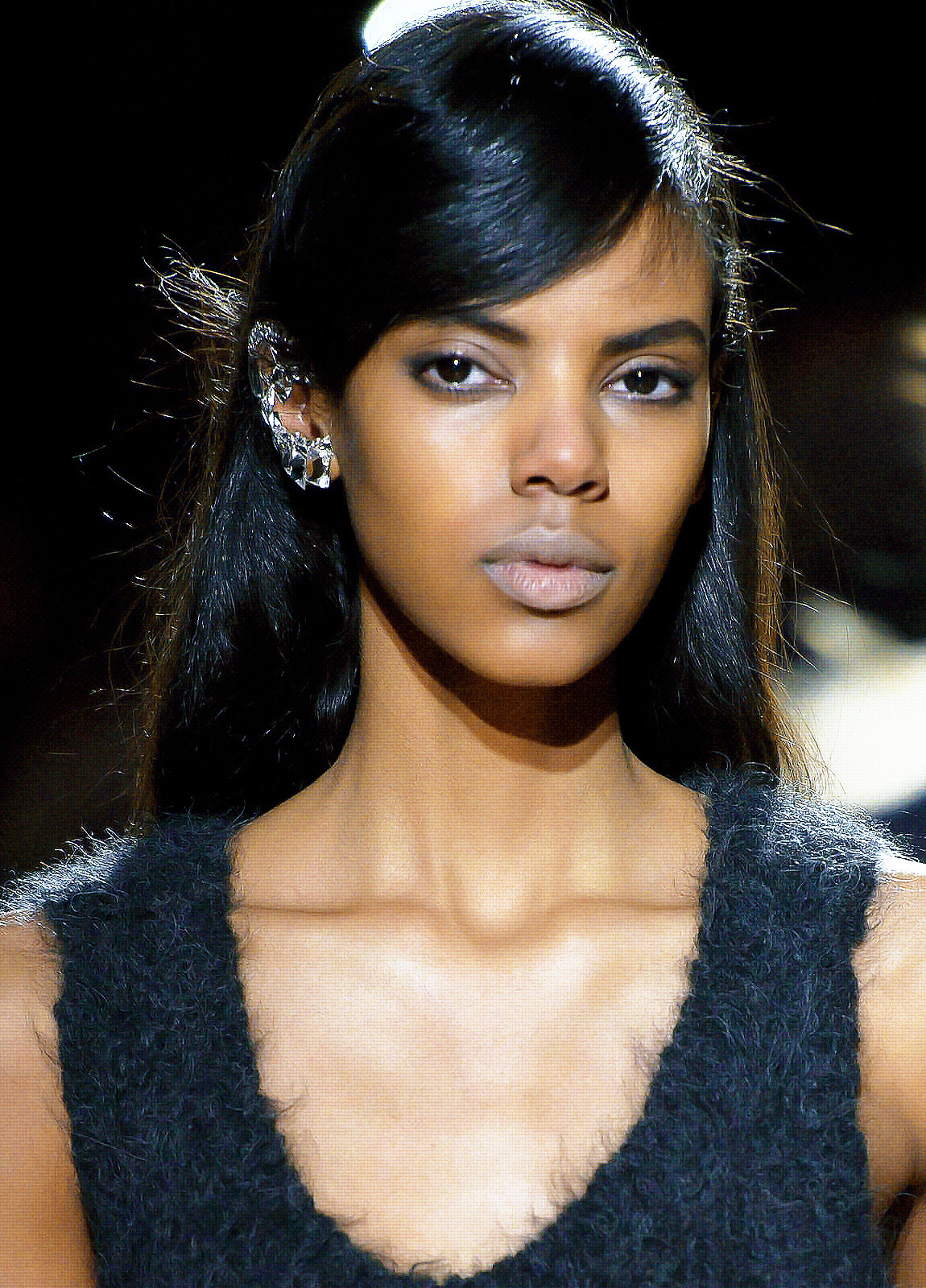 Grace Mahary at Dries Van Noten Fall 2013.