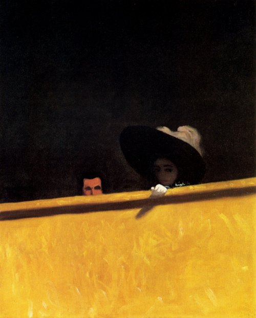 Felix Vallotton- Box Seats at the Theater (1909)