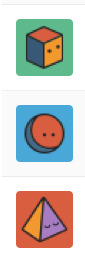 Anyone else getting followed on Tumblr by dummy accounts with icons like these? (Before you react, this was happening long before the Yahoo! buyout.) I'd say about half of my recent followers are these kind of blank Tumblr accounts. Any ideas?