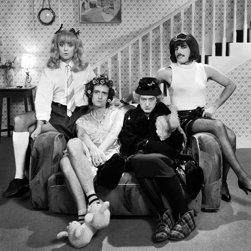20th-century-man:  Queen; photo by Simon Fowler, 1981.