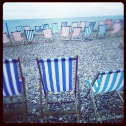 Stripes #beachchairs #beach #springtime #beer #instadaily #picoftheday