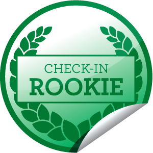 I just unlocked the Check-in Rookie sticker on GetGlue                      745321 others have also unlocked the Check-in Rookie sticker on GetGlue.com                  Way to get started! That's ten check-ins for you!