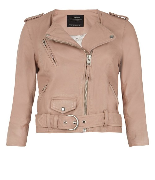 wantering:  Cropped Felton Leather Biker Jacket