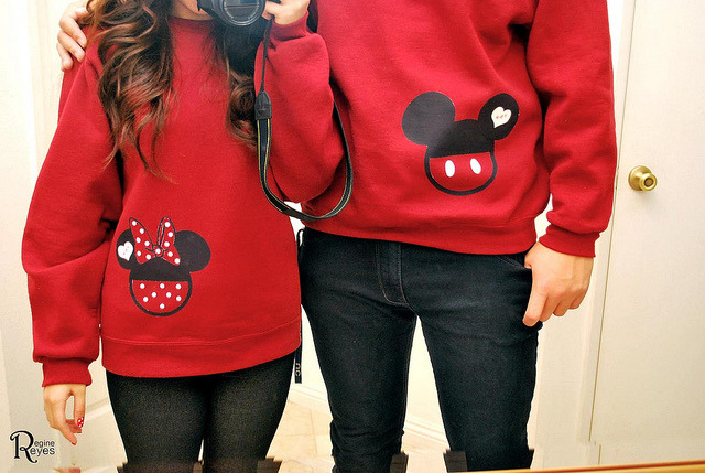 unfixablebitcch:   Mickey & Minnie !